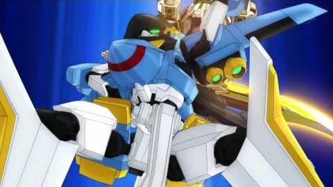 Danball Senki W (ダンボール戦機W) 00 Sword (HD)