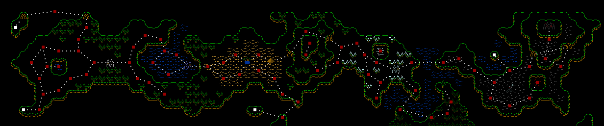 SR World Map