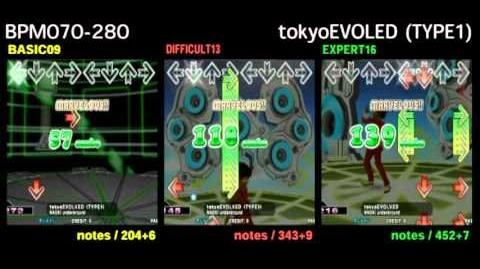 DDR X3 tokyoEVOLVED (TYPE1) - DOUBLE
