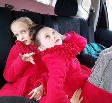 712 Lilliana and Elliana posing