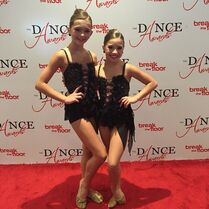 BrookeK and Mackenzie - Top 22 mini female - TDA 2015