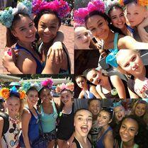 632 Girls at Disneyland