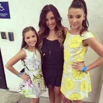 Mackenzie Gianna Kendall - DWTS - 5May2015