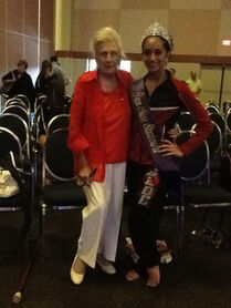 Miss Teen Starbound Katherine Narasimhan with Maryen Lorrain Miller