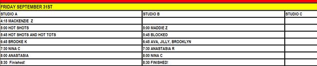 ALDC-RDP Building Studio Schedule-31 September 2011