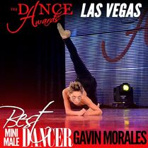 Gavin Morales - The Dance Awards Las Vegas - Best Mini Male Dancer 2015