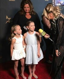 709 Abby, Lilly and Ellie on red carpet
