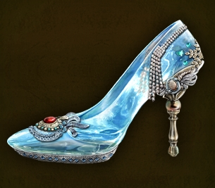 Image result for glass slipper