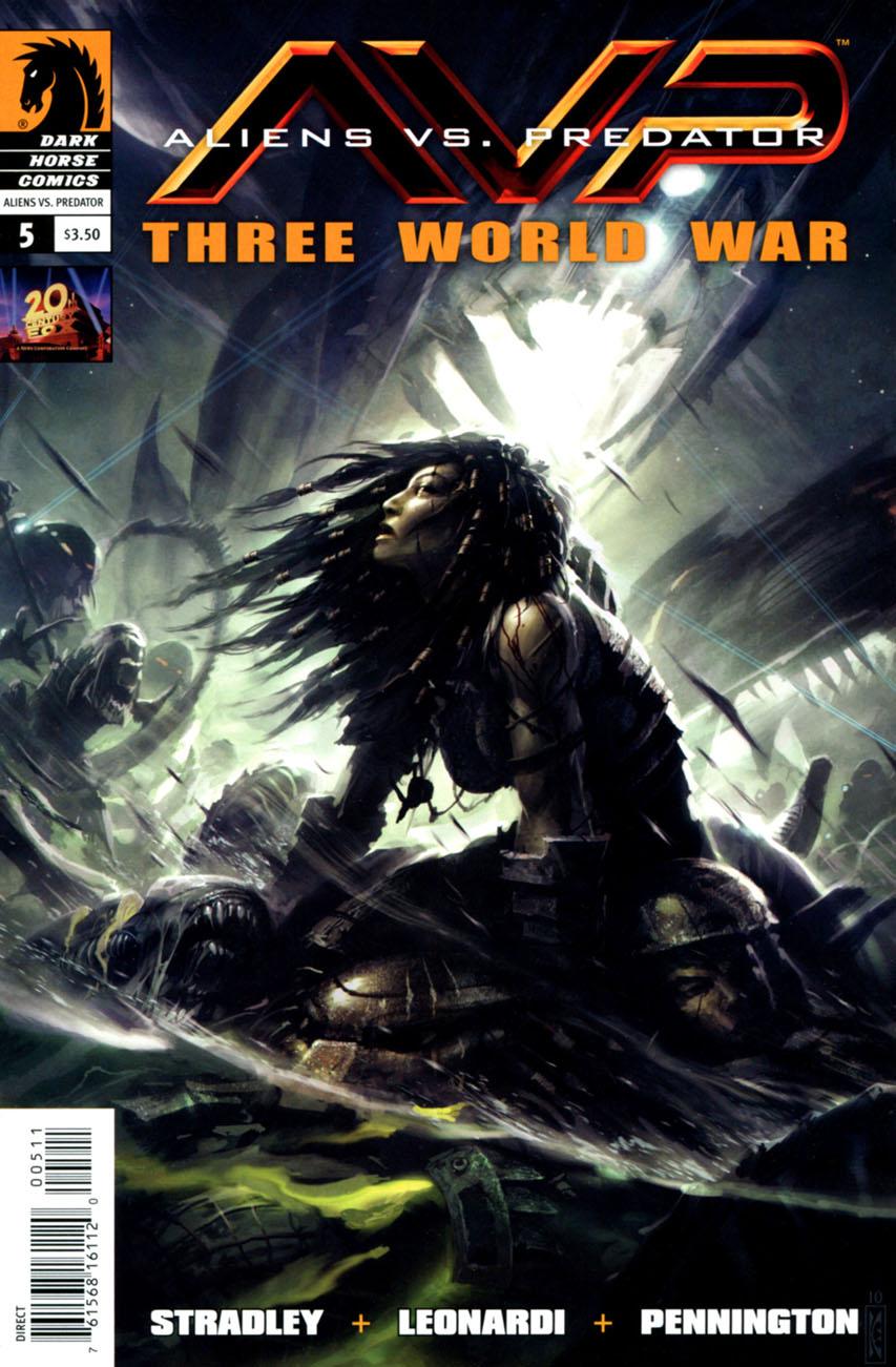 Aliens vs. Predator: Three World War Vol 1 5 | Dark Horse ...
