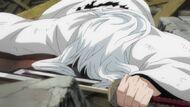 Ukitake defeated