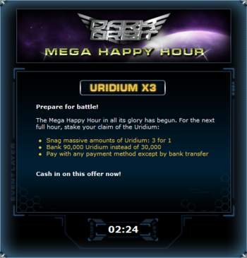 Mega Happy Hour