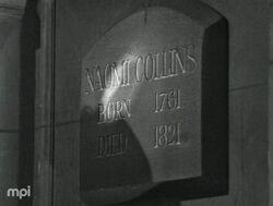 Naomi collins mausoleum