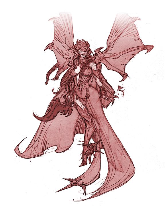 Darksiders II - End of Credits Secret Cutscene - Lilith [360 ...