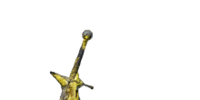Yellow Quartz Longsword