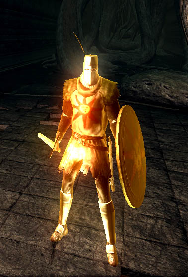 dark souls how to get solaire sun armor set