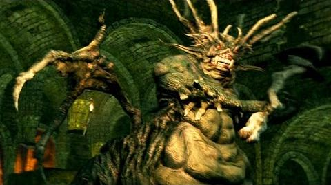 Stray Demon - Dark Souls Boss Fight