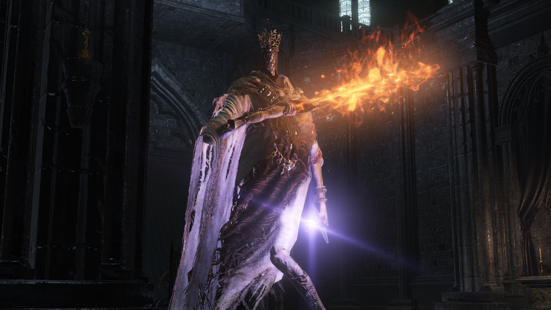 Pontif Sulyvahn boss fight in Dark Souls III