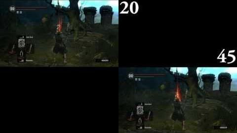 Dark Souls Dark Bead 20 DEX vs 45 DEX