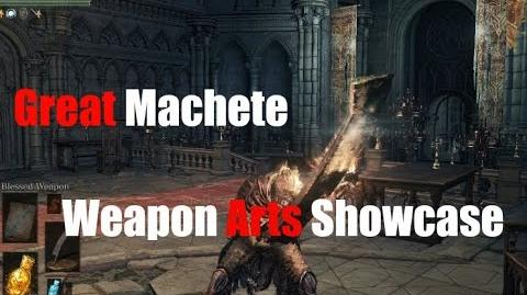 Dark Souls 3 Great Machete - Weapon Arts Showcase