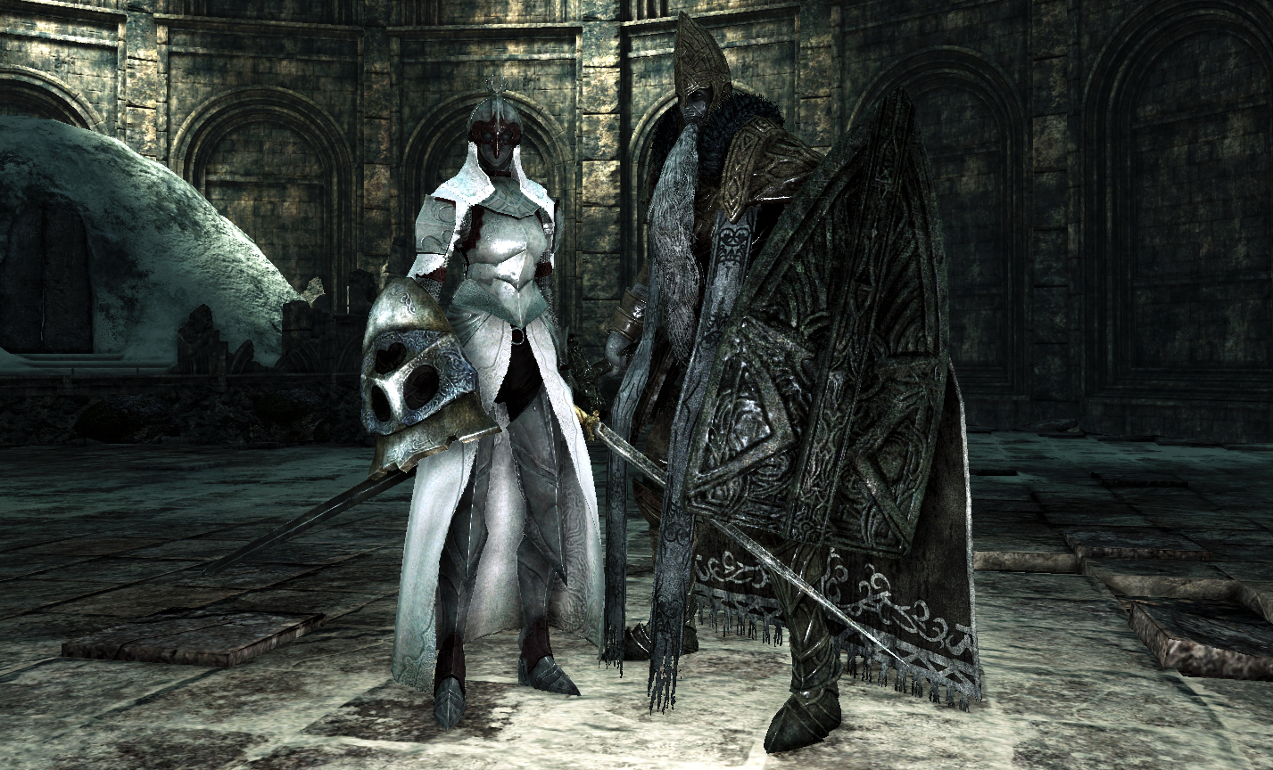Image result for Throne Watcher and Throne Defender dark souls