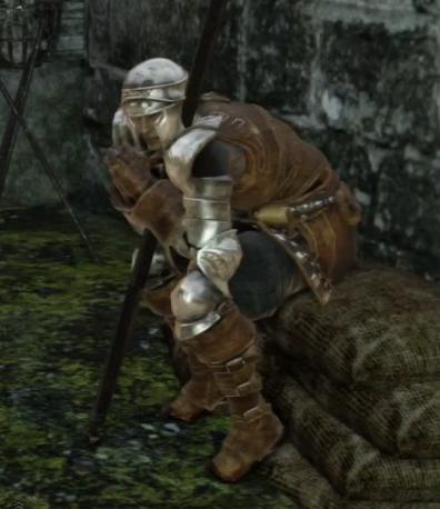 Dark Souls 2] NPC Cosplay: Mild-Mannered Pate - YouTube