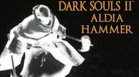 Dark Souls 2 Aldia Hammer Tutorial (dual wielding w power stance)-0