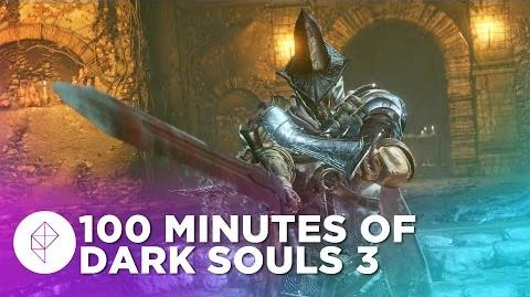 100 Minutes of Dark Souls 3 Gameplay - New Bosses and Locations