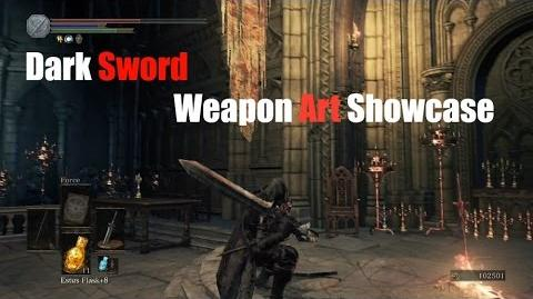 Weapon Arts Showcase Dark Sword