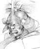 Darkstalkers 3 Bishamon Sketch
