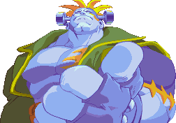 Darkstalkers 3 Victor Winning Portrait