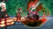Kurumi freezes Kotori's time