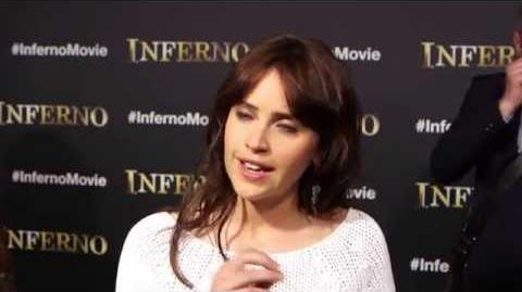 Inferno Felicity Jones Interview on the Florence Movie Set