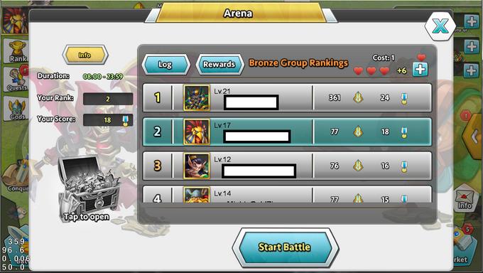 DoG Arena Ranking-0