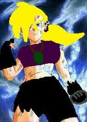 Super saiyan talina after fighting frieza and cell in hell just before her and jace went majin