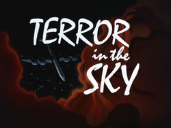 Terror in the Sky-Title Card