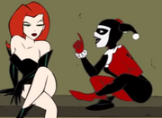 The three babes Poison Ivy begins to tell his story