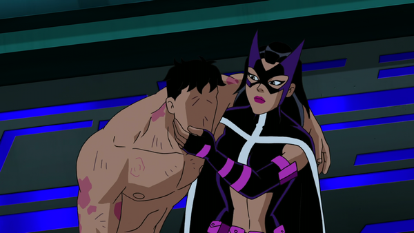 Image - Huntress rescues Question.png | DC Animated ...