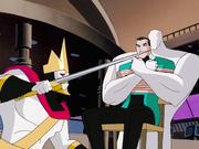 King threatens