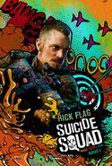 Rick Flag comic character poster