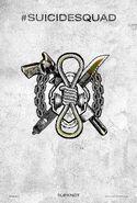 Suicide Squad tattoo poster - Slipknot