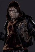 Suicide Squad character portrait - Killer Croc