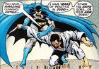 Batman arm pin