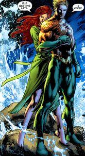 Mera Aquaman comics