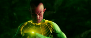 Sinestro Turns into a Yellow Lantern