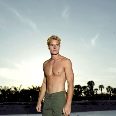 Aquaman portrayed by Justin Hartley