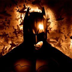 Promotional shot of Batman
