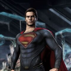 <i>Man of Steel</i> skin from <i>Injustice: Gods Among Us</i> video game.