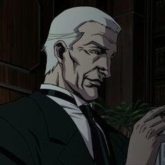 Alfred as he appears in <i>Batman: Gotham Knight</i>.