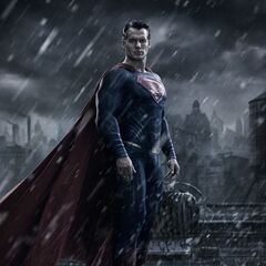 First look at Superman from <i>Batman v Superman: Dawn of Justice</i>.