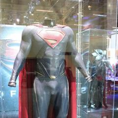 Superman's costume at the Expo.